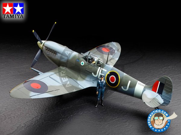 Image 5: Supermarine Spitfire Mk. IX C | Airplane kit in 1/32 scale manufactured by Tamiya (ref.60319)