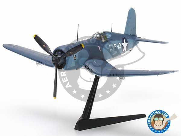 Image 4: Vought F4U Corsair 1A | Airplane kit in 1/32 scale manufactured by Tamiya (ref.TAM60325)