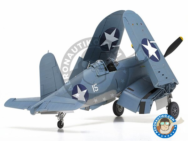 Image 5: Vought F4U Corsair 1A | Airplane kit in 1/32 scale manufactured by Tamiya (ref. TAM60325)