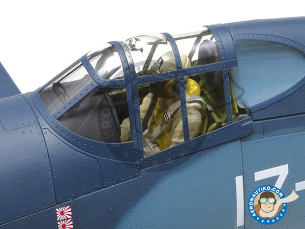 Image 6: Vought F4U Corsair 1A | Airplane kit in 1/32 scale manufactured by Tamiya (ref.TAM60325)