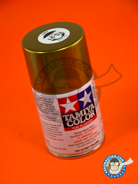 Gold TS-21 | Spray manufactured by Tamiya (ref. TAM85021) image
