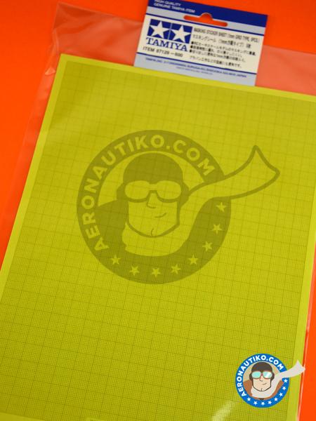 Masking sticker sheet   Masks manufactured by Tamiya (ref.TAM87129) image
