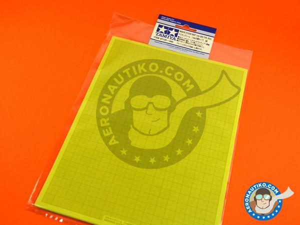 Image 1: Masking sticker sheet   Masks manufactured by Tamiya (ref.TAM87129)