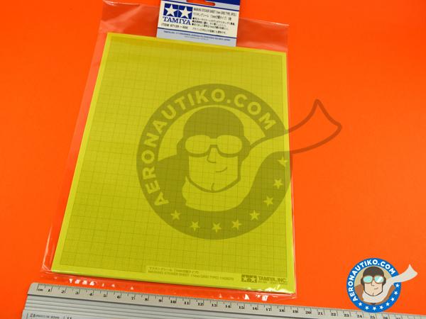 Image 3: Masking sticker sheet   Masks manufactured by Tamiya (ref.TAM87129)