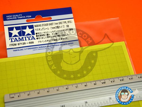 Image 4: Masking sticker sheet   Masks manufactured by Tamiya (ref.TAM87129)