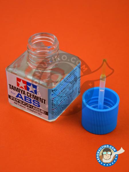 Tamiya Cement for ABS | Glue manufactured by Tamiya (ref.TAM87137) image