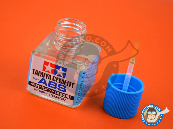 Image 1: Tamiya Cement for ABS | Glue manufactured by Tamiya (ref. TAM87137)