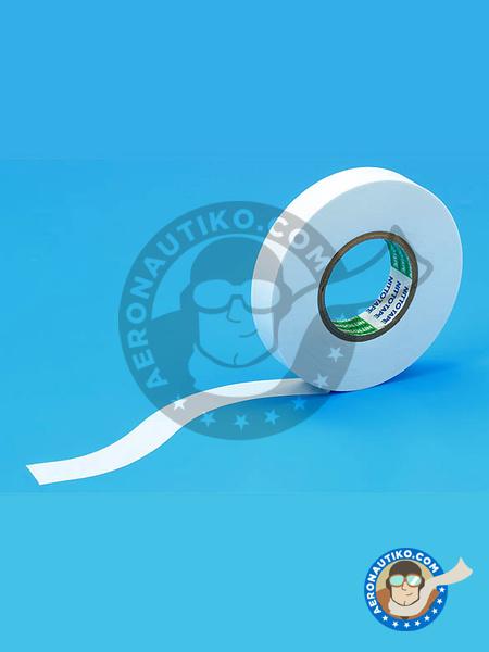 Masking tape for curves 12mm | Masks manufactured by Tamiya (ref.TAM87184) image