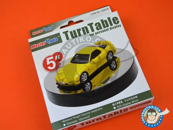 Image 2: Turntable Display 125mm - 5 inches | Base manufactured by Trumpeter (ref. 09836)