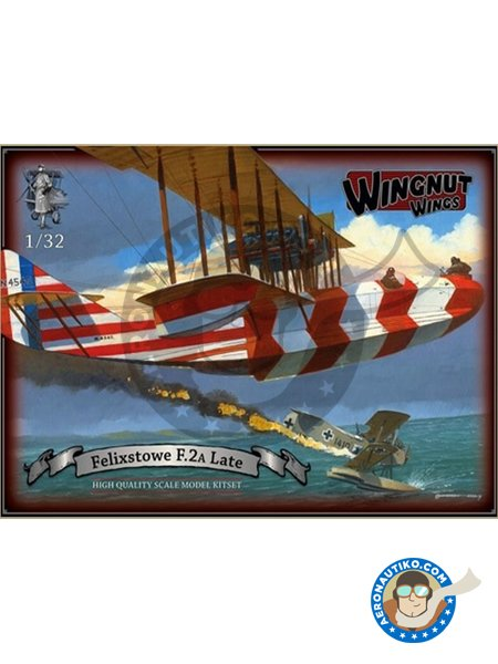 Felixstowe F.2a Late   Model kit in 1/48 scale manufactured by Wingnut Wings (ref.32066) image