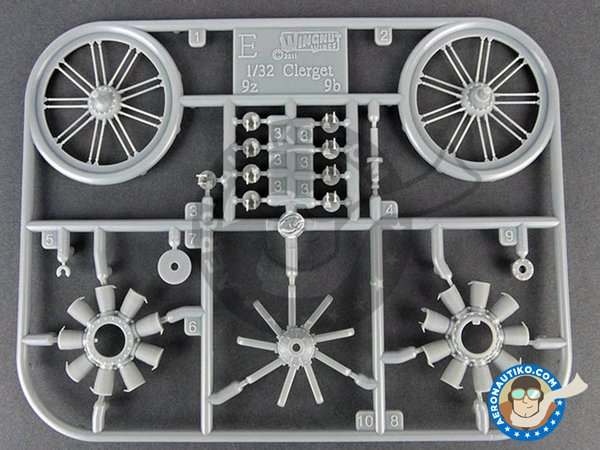 Image 4: Sopwith F.1 Camel and LVG C.VI | The Duellists | Model kit in 1/32 scale manufactured by Wingnut Wings (ref. 32803)