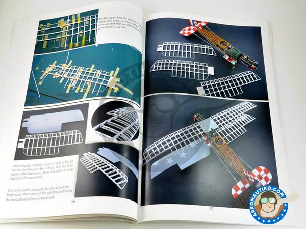 """Image 3: Book Bristol F.2B """"The Crocodile"""" by Jose María Martínez Fernández 