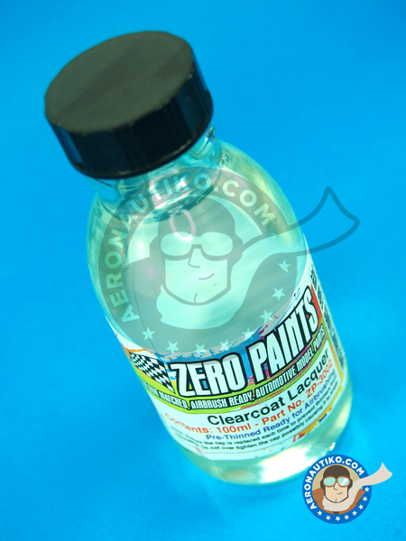 Clearcoat gloss clear lacquer pre-thinned | Clearcoat manufactured by Zero Paints (ref.ZP-3002) image