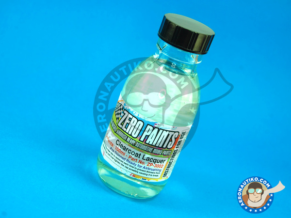 Image 1: Clearcoat gloss clear lacquer pre-thinned | Clearcoat manufactured by Zero Paints (ref.ZP-3002)