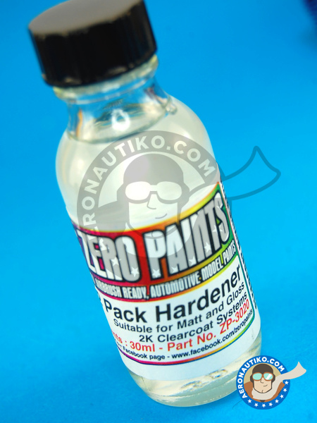 Spare Hardener for 2 Pack GLOSS Clearcoat Set - 30 ml | Clearcoat manufactured by Zero Paints (ref.ZP-3020) image