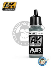 AK Interactive: Acrylic paint - RLM 78 | Air Series - 17ml Jar - for all kits