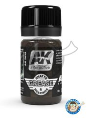 AK Interactive: AK Weathering efect product - Shafts and Bearings Grease | Air Series - for all kits or dioramas