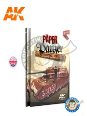 AK Interactive: Book - Paper Panzer: Prototypes & What If Tanks - 208 pages