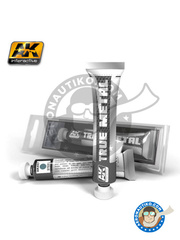 AK Interactive: AK True Metal product - Steel - for for all models kits image