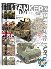 AK Interactive: Magazine - TANKER 01: Rust   Techniques Magazine. Spanish language