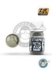 AK Interactive: Xtreme metal paint - Duraluminium - 30mL Jar