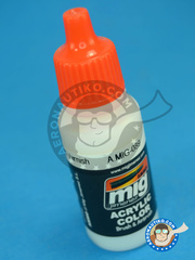 AMMO of Mig Jimenez: Clearcoat - Matt Varnish - 17ml - for all kits