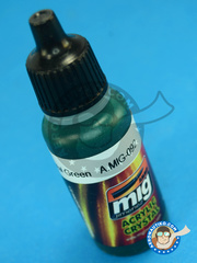 AMMO of Mig Jimenez: Acrylic paint - Crystal Green - 17ml - for all kits