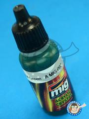 AMMO of Mig Jimenez: Acrylic paint - Crystal Green - 17ml image