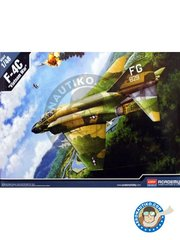 "Academy: Airplane kit 1/48 scale - F-4C ""Vietnam War"" - May 1967 (US0) - Vietnam War - plastic parts, water slide decals and assembly instructions"