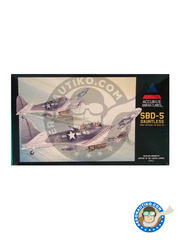 Accurate Miniatures: Airplane kit 1/48 scale - Douglas SBD Dauntless 5 - Marine Corps Air Station Cherry Point, North Carolina (US7) - plastic model kit