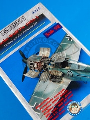 Aires: Upgrade 1/48 scale - Focke-Wulf Fw 190 Würger A-3 - resin parts - for Tamiya kit image