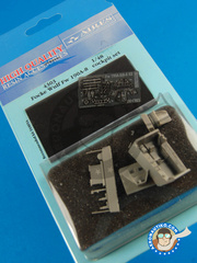 Aires: Cockpit set 1/48 scale - Focke-Wulf Fw 190 Würger A-8/A-8 R2 - photo-etch and resin parts - for Tamiya kit