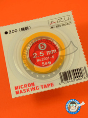 Aizu Project: Masks - Micron masking tape 2,5mm x 5m