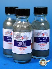 Alclad: Paint - Aluminium - 30ml bottle - for Airbrush