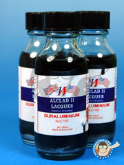 Alclad: Paint - Duraluminium  - 30ml bottle - for Airbrush