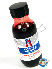 Alclad: Paint - Transparent Red - 30ml bottle - for Airbrush