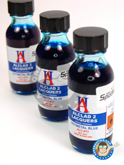Alclad: Paint - Hot Metal Blue - 30ml bottle - for Airbrush