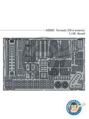 Eduard: Photo-etched parts 1/48 scale - Panavia Tornado GR. 4 - for Revell reference REV04924 image