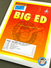 Eduard: Big ED set 1/32 scale - Douglas A-4 Skyhawk E - for Trumpeter kit image