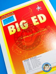 Eduard: Big ED set 1/72 scale - Boeing B-17 Flying Fortress F - for Revell reference REV04297