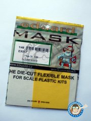 Eduard: Masks 1/48 scale - Yak-38 - paint masks and placement instructions - for Hobby Boss kits