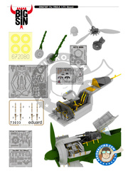 Eduard: BIG SIN 1/72 scale - Focke-Wulf Fw 190 Würger A-8 - for Eduard kit  image