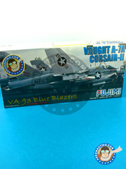 Fujimi: Airplane kit 1/72 scale - Ling-Temco-Vought A-7 Corsair II A - plastic parts, water slide decals and assembly instructions image