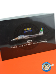 Great Wall Hobby: Airplane kit 1/48 scale - McDonnell Douglas F-15 Eagle C - photo-etched parts, plastic parts, water slide decals, other materials and assembly instructions