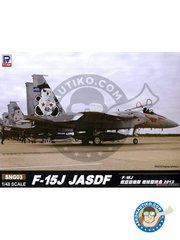 Great Wall Hobby: Model kit 1/48 scale - F-15J JASDF TAC Meet 2013 - Japan - photo-etched parts, plastic parts, water slide decals and assembly instructions