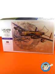 Hasegawa: Airplane kit 1/72 scale - Avro Lancaster B Mk I / Mk III - RAF (GB4) 1942 and 1943 - plastic model kit image