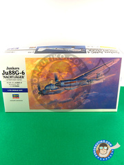 Hasegawa: Airplane kit 1/72 scale - Junkers Ju-88 G-6 Nachtjager - plastic model kit