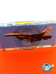 Hasegawa: Airplane kit 1/72 scale - General Dynamics F-16 Fighting Falcon A - plastic model kit