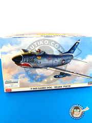 Hasegawa: Airplane kit 1/72 scale - North American F-86 Sabre D - plastic model kit
