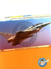 Hasegawa: Airplane kit 1/72 scale - Eurofighter Typhoon EF-2000 Two seater - plastic model kit